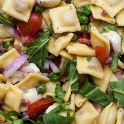 Mini Ravioli Pasta Salad